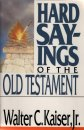 Hard Sayings of the Old Testament cover
