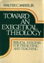 Toward an Exegetical Theology cover